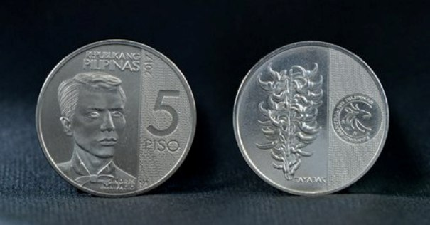 Look New 5 Peso Coin Design Released Update Philippines