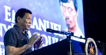 Duterte to Pacquiao: I want you to become president