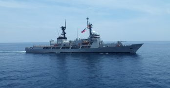 FF-17 conducts first voyage to northern Philippines