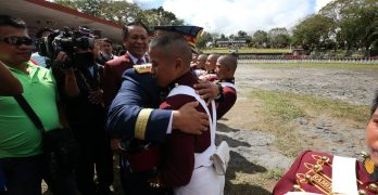 Bato leads recognition rites of son's PNPA batch