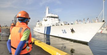 Indian offshore patrol vessel arrives in Manila