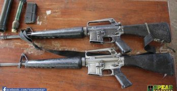 Government forces recover firearms from NPA terrorists