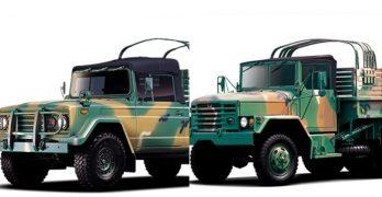 Army, Marines getting 345 new Korean military trucks