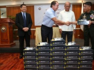 Aboitiz donates 2,300 safety glasses to DND