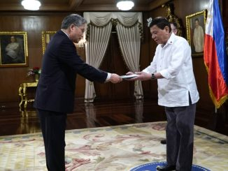 Pres. Duterte receives credentials of 3 new envoys to PH