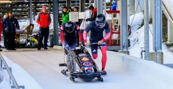 Two Philippine Coast Guards first bobsledders of the Philippines