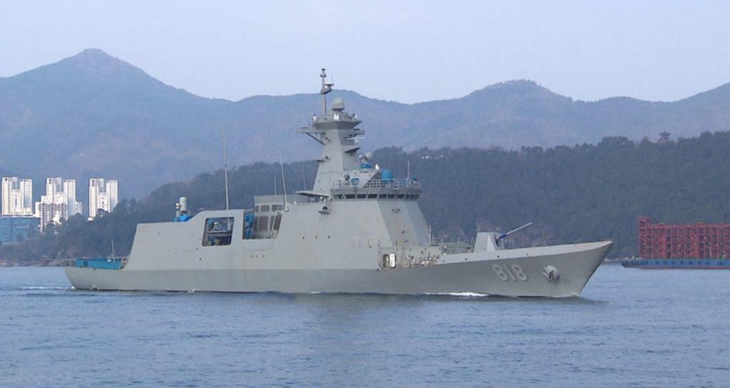 First Daegu-class FFX-II Frigate delivered to ROK Navy
