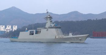 First Daegu-class FFX-II Frigate delivered to ROK Navy