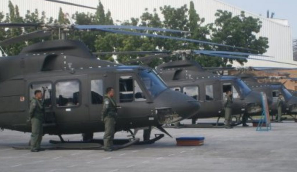 Bell EPI combat utility helicopters