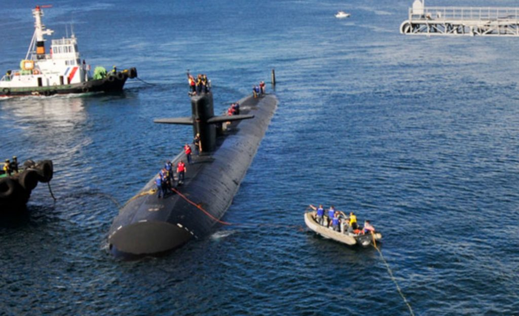 US attack submarine in Subic for routine visit