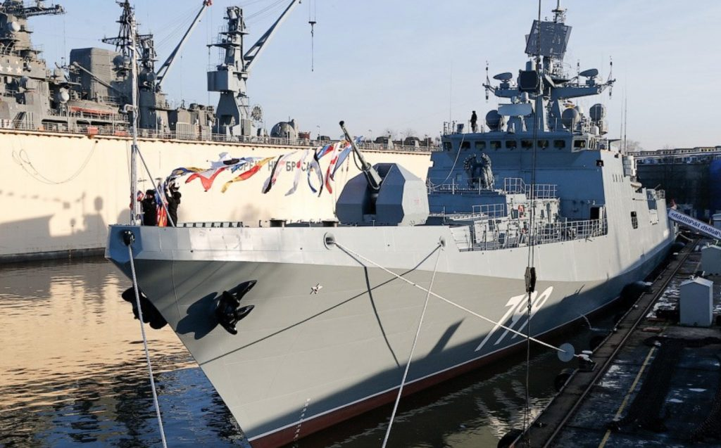 India to procure four Project 11356 frigates under $3bn deal