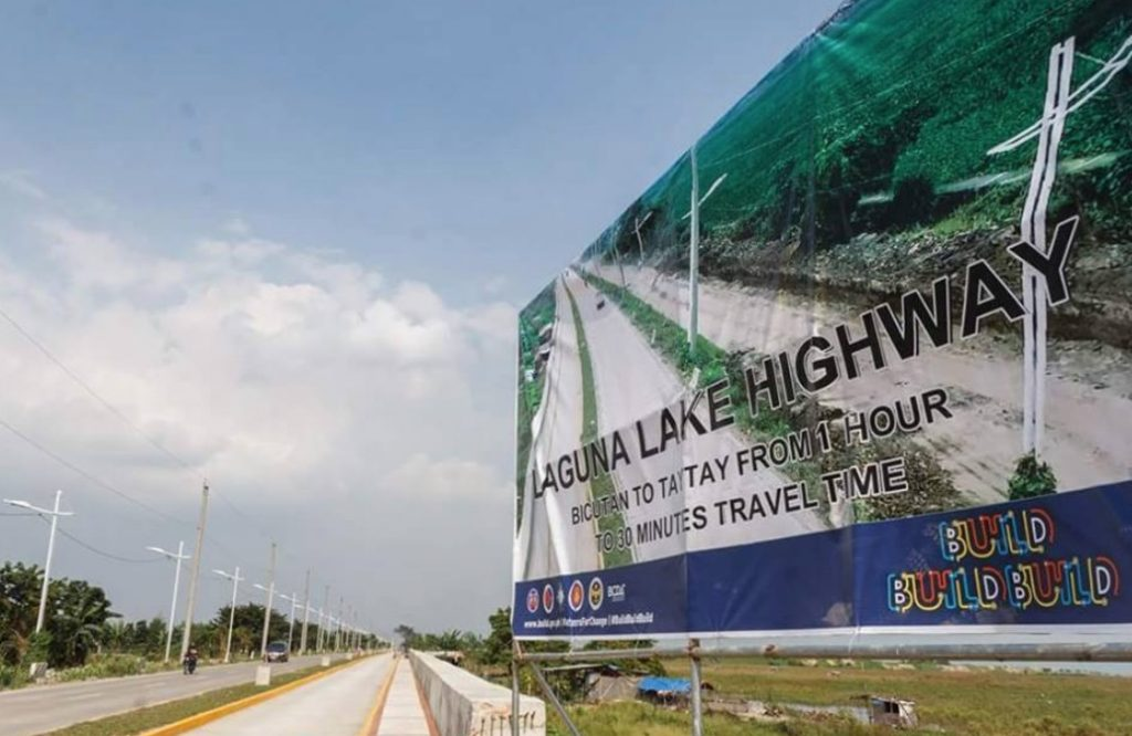 Laguna Lake Highway now open to public
