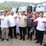 The Japanese government has donated 27 sets of brand new heavy equipment  for Marawi rehab