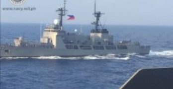 RIMPAC-bound PH ships join formation exercise