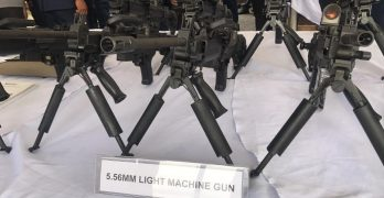 The Philippine National Police (PNP) unveiled new equipment