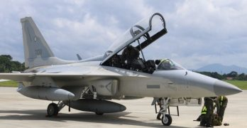 Philippine Air Force Fighter Jets Arrive in Palawan for Joint Exercise