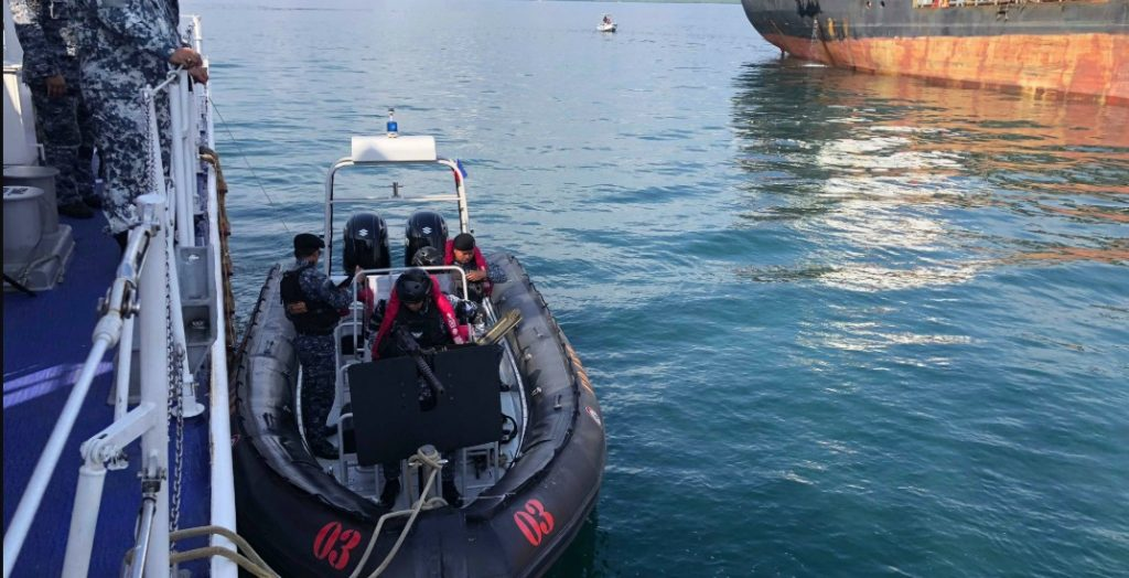 Coast Guard bares new anti-terrorism fast boat in Palawan