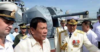 Duterte wants military to get Submarines from Russia