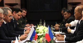 Lorenzana in Moscow to discuss areas of PH-Russia defense cooperation