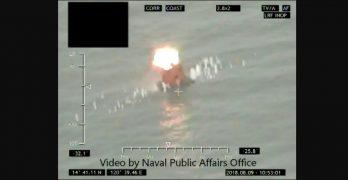 Philippine Navy test-fires first Spike-ER missile