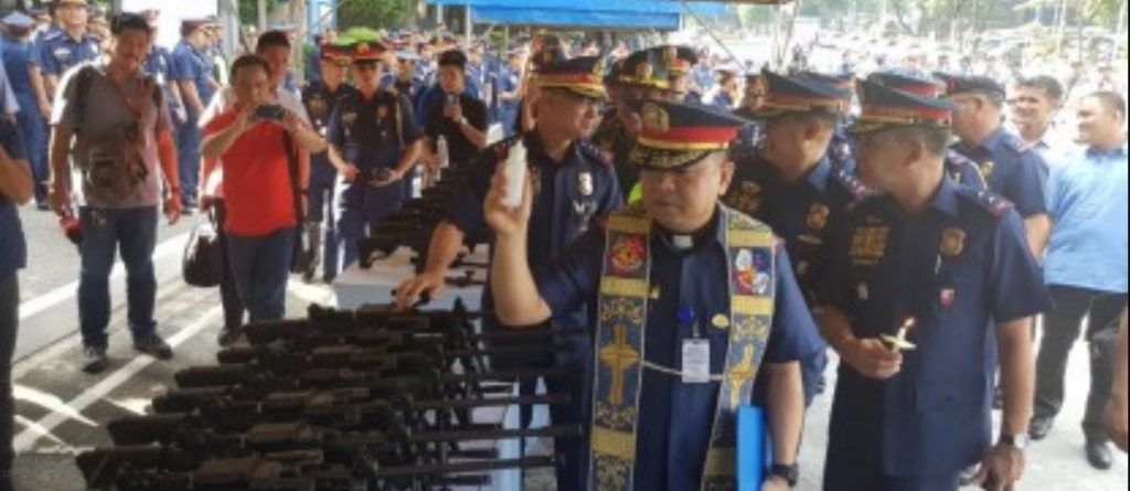 PNP bares guns, big bikes in P2-B capability enhancement program