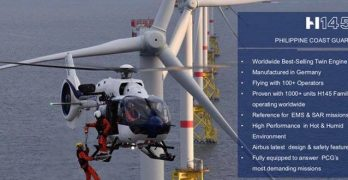 Philippine Coast Guard - the Airbus Helicopters H145