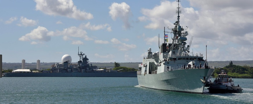 Three Navy vessels, more troops to take part in next RIMPAC —DND
