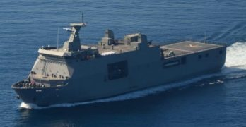 BRP Tarlac leaves for Russia Friday