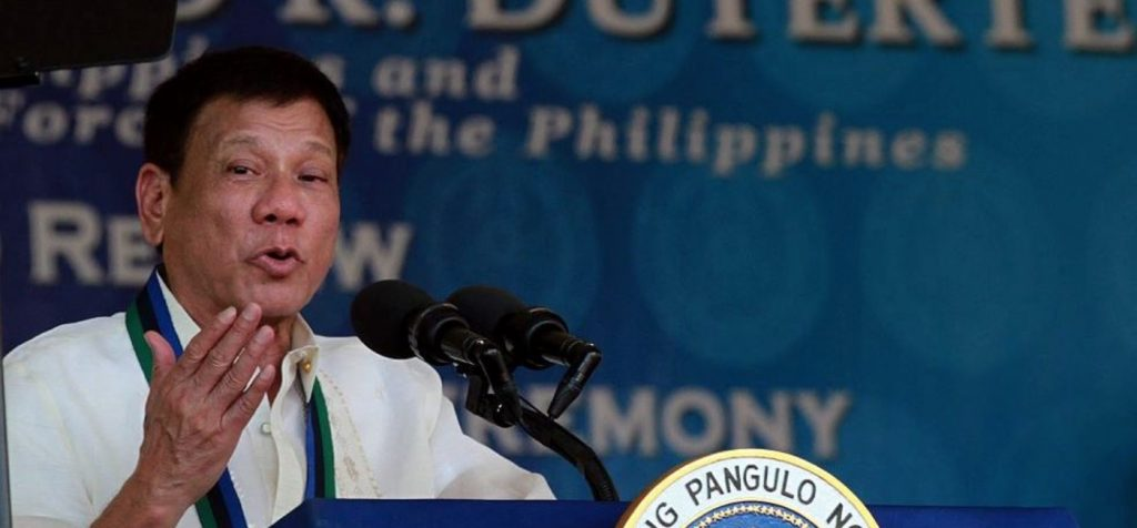 Duterte not interested with US firearm purchase
