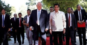 Duterte to military: Buy intel equipment only from Israel