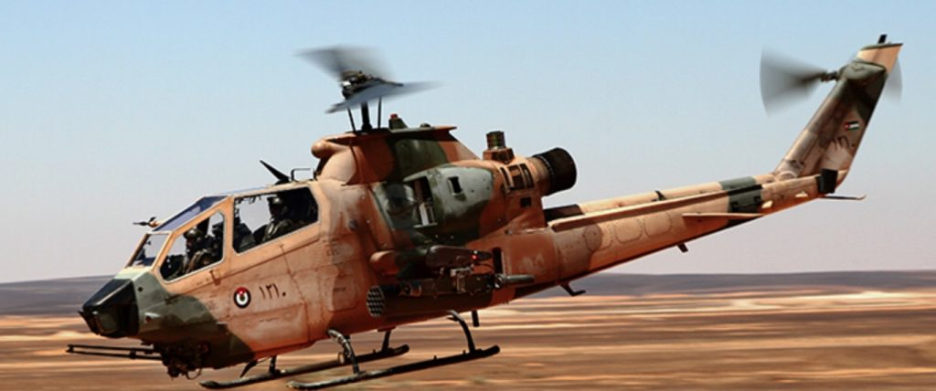 Jordan to give two attack helicopters to PH