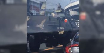 Tanks along EDSA? AFP says there's no cause for alarm