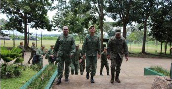 Singapore Army Visit at TABAK