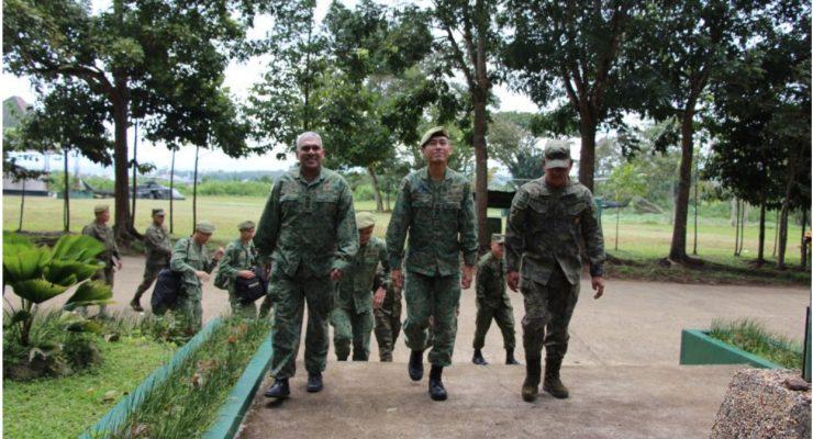 Singapore Army Visit at TABAK