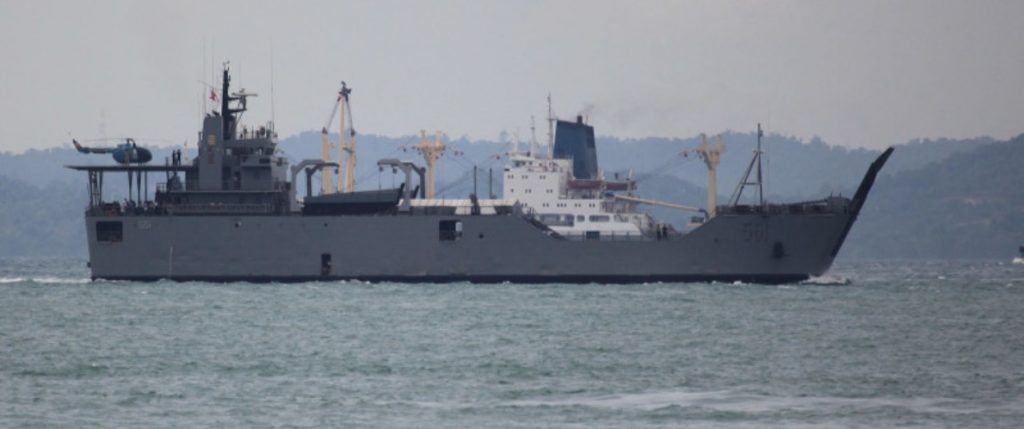 BRP Dagupan City's voyage home delayed due to 'Rosita'