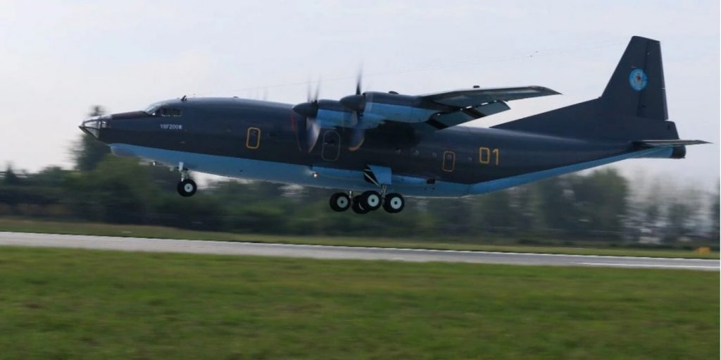 Kazakhstan receives first Y-8 military transport aircraft from China