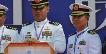 Communication drill champion during ASEAN-China Maritime Exercise
